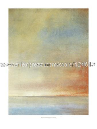 Tim O Toole Tranquil oil paintings on canvas decoration art canvas painting black red and white poster Living room backgr(China (Mainland))