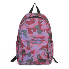 2016 Fashion Camouflage Backpack Women Pink Quality Canvas Khapsack Casual Outdoor Sports Travel School Bags Mochila New XA449H