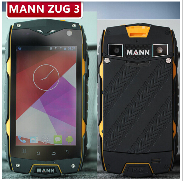 MANN ZUG 3 ZUG3 Falcon A18 Plus 4.0inch IP68 Waterproof Rugged Phone Qualcom MSM8212 Quad Core 1.2GHz OS 4.3 1GB RAM GLONASS(China (Mainland))