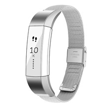 Buy Ktab Buckle Mesh Milanese Stainless Steel Replacement Accessory Bracelet Band Fitbit Alta HR/Fitbit Alta Bands Fitbit Alta for $12.98 in AliExpress store