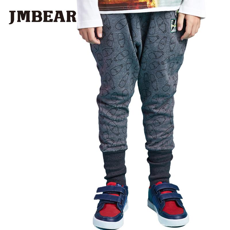 JMBEAR 2016 Kids Boys Pants Feeding bottle Printed Toddler Girls Boys Trousers Children Clothing Casual Harem Pants Pantalon(China (Mainland))