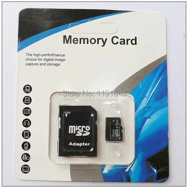 100% real capacity memory 2G 4G class 4 8GB class6 16GB 32GB 64GB 128GB class 10 micro sd hc card Pass h2testw +adapter reader(China (Mainland))