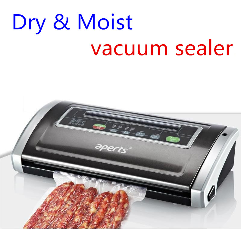 New 2016 Deluxe High Quality Automatic Electric Vacuum Food Sealer Machine With All Size Vacuum Bag For Peanut Portable(China (Mainland))