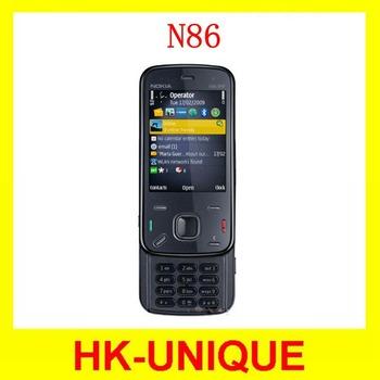 Original Unlocked Nokia N86 8MP Camera WIFI GPS 3G network Smartphone free shipping
