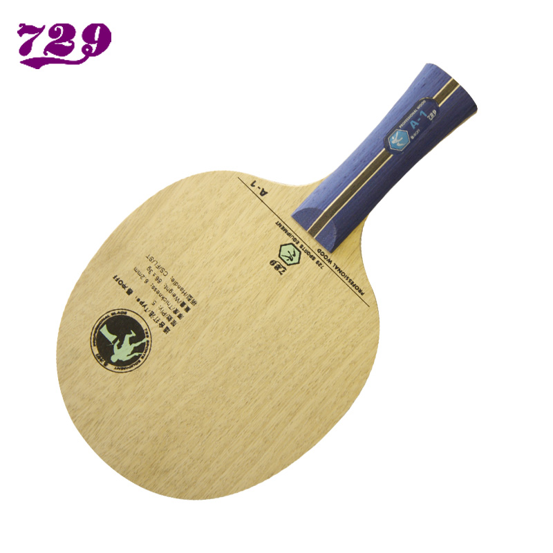 Free shipping 729 table tennis ball base plate a-1 5 pure wood horizontal monoblock knife hand<br><br>Aliexpress