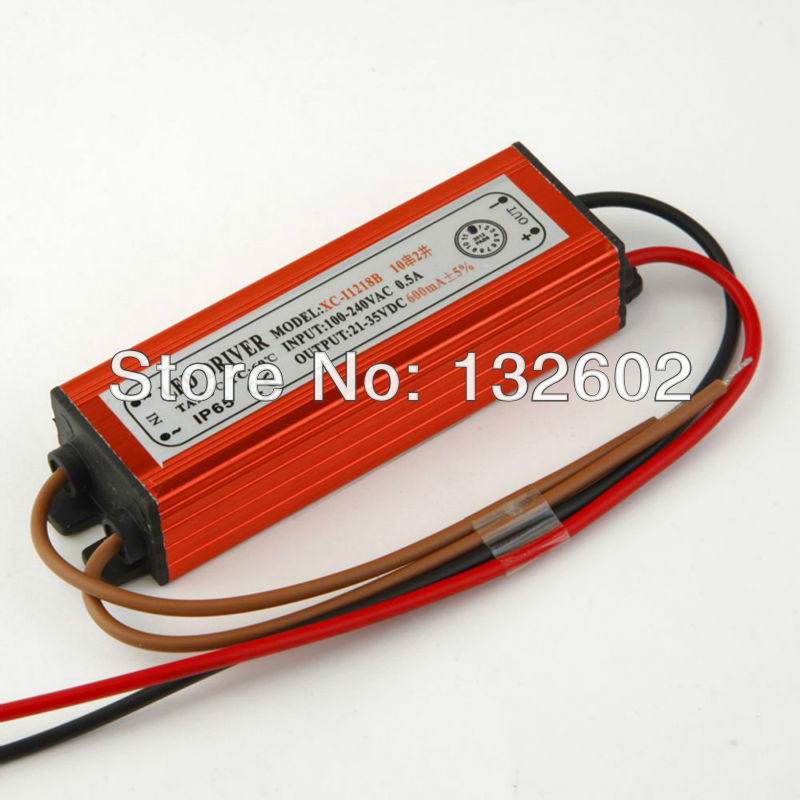 10 series 2 parallel 300mA DC 21-35V 20W LED Driver Power Supply Waterproof Level IP65 Free Shipping<br><br>Aliexpress