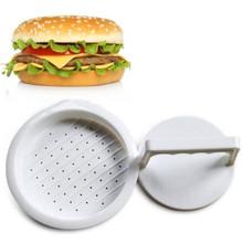 Hot Plastic Hamburger Meat Beef Maker Grill Burger Patty Press Mold Mould kitchen utensils for hamburger press Drop Shipping(China (Mainland))