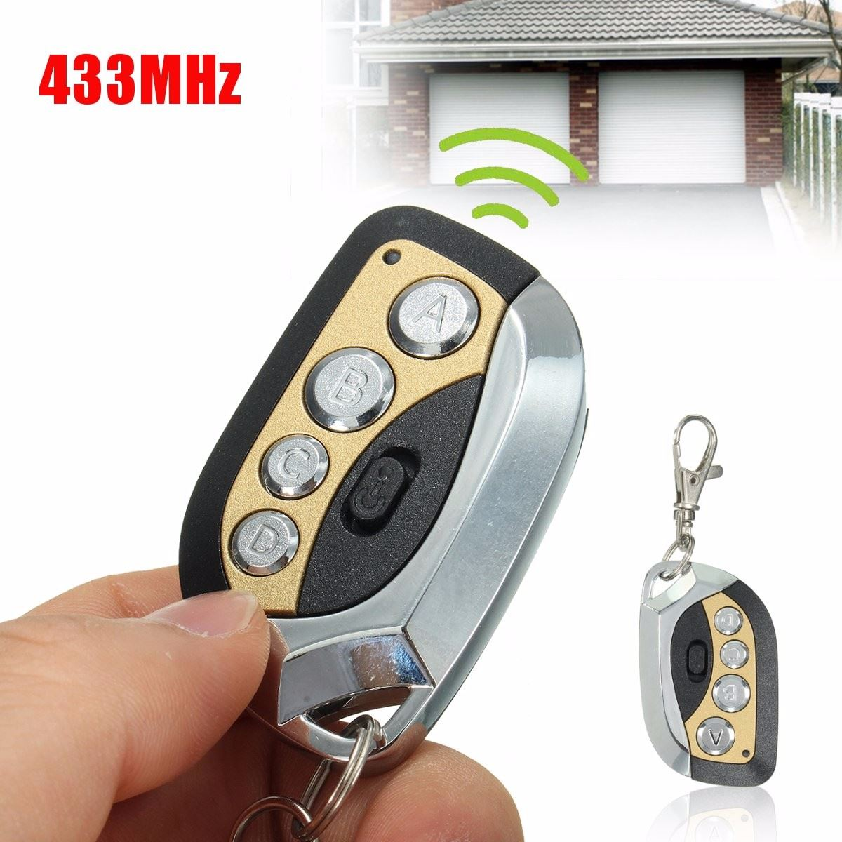 Universal 433MHz Electric Cloning Car Gate Garage Door Remote Control Key Fob(China (Mainland))