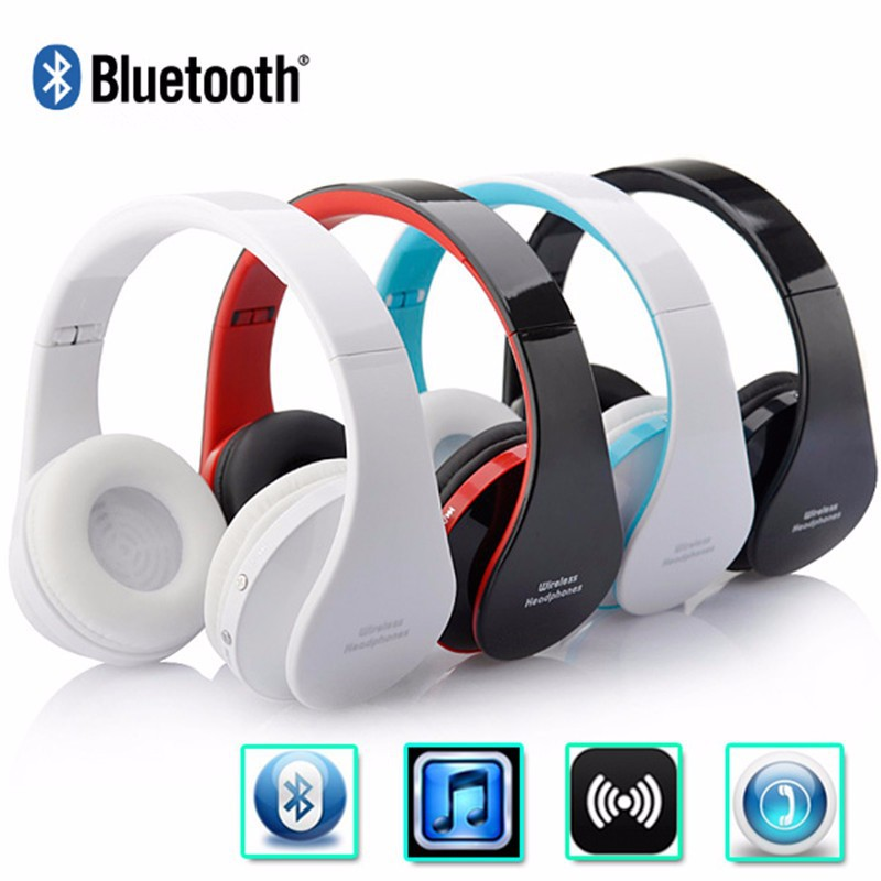 Stereo Sport Gaming Noise Reduction Built-in Microphone &amp; Speaker Headphones Wireless Bluetooth Headset with Retail package<br><br>Aliexpress