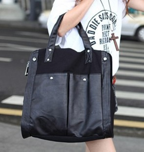 New 2014 Winter canvas casual women shoulder diagonal handbag wholesale and retail factory outlets free shipping(China (Mainland))