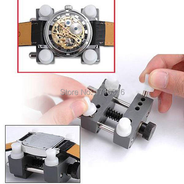Best Price Portable Useful Watchmaker Mans Watch Repair Tool Back Case Holder Adjustable Opener Remover Excellent Quality(China (Mainland))