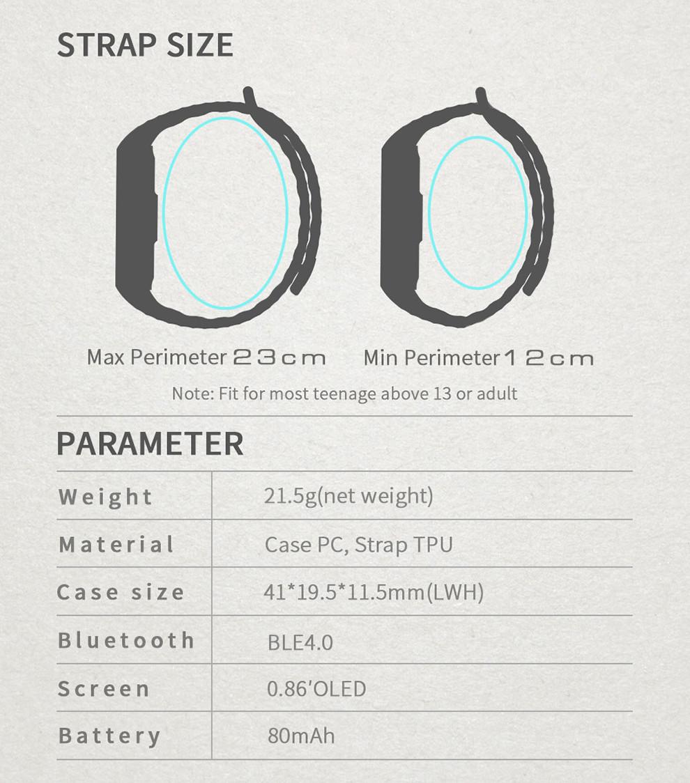 ถูก B15pกีฬาsmart watchผู้ชายวงสมาร์ทสายรัดข้อมือบลูทูธ4.0ความดันโลหิตติดตามh eart rate monitor pedometerนาฬิกาสปอร์ต