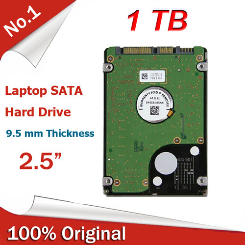 "New Internal HDD 2.5"" inch 5400 RPM Notebook 1TB Sata III Hard Drive 16M Cache Laptop Factory Sealed(China (Mainland))"