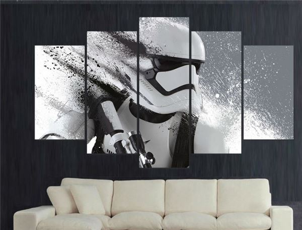 stormtrooper star wars print no frame sa boutique shop. Black Bedroom Furniture Sets. Home Design Ideas