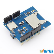 Elecrow RTC Data Logging Data Logger Shield for Arduino UNO SupportsSD SDHC MicroSD TF Cards and with a RTC Onboard DIY Kit(China (Mainland))