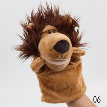 Hot Selling Child Cute Plush Velour Animals Hand Puppets Creative Designs Learning Aid Toys For Kids Toy-0028(China (Mainland))