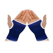 Palm Wrist Hand Support Glove Elastic Brace Sleeve Sports Bandage Gym Wrap H1E1