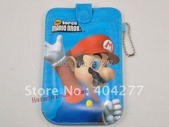 Cartoon Super Mario Brothers Mobile Phone Pouch Cover with Ring