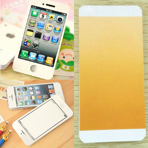 Гаджет  White Fashion Sticky Post It Note Paper Cell Phone Shaped Memo Pad  memo pads paper note pad DIY For Iphone 5 None Офисные и Школьные принадлежности