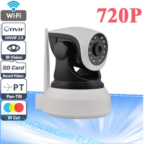 Vstarcam C7824WIP Onvif 2.0 720P IP Camera Wireless Wifi CCTV Camera HD Indoor Pan/Tilt IR CUT Night Vision Support 64G SD Card(China (Mainland))