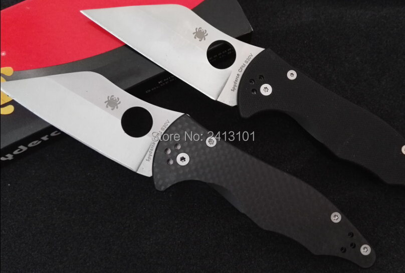 Buy OEM C85GP2 58-61HRC S30V blade G10 or Carbon fiber handle  folding knife outdoor camping knives survival tools tactical knives cheap
