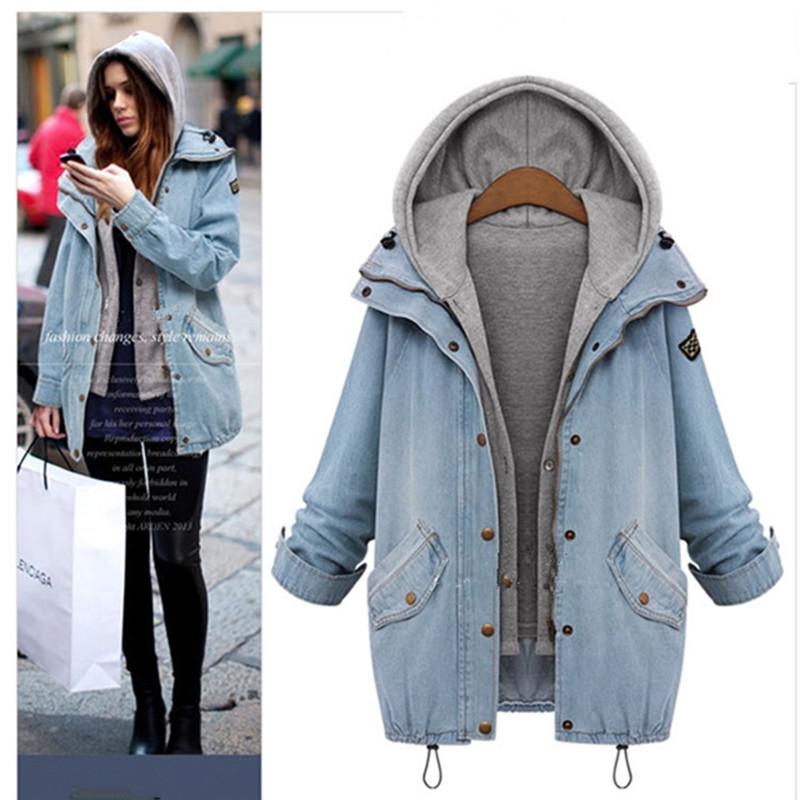 Fashion Denim Coat Vest 2015 Korean Style Winter Fall Style Women Coat And Jacket Ropa Mujer