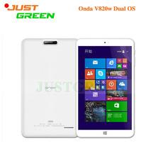 "Onda V820W Dual Boot Tablet PC 8"" IPS Screen Windows 10+Android 4.4 Intel Z3735F Quad Core 2GB RAM 32GB ROM 2MP Camera HDMI PAD(China (Mainland))"