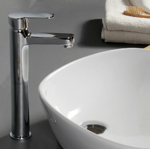 Wholesale Sale Luxury Basin Faucets Material Brass Modern Chrome Bathroom Ves