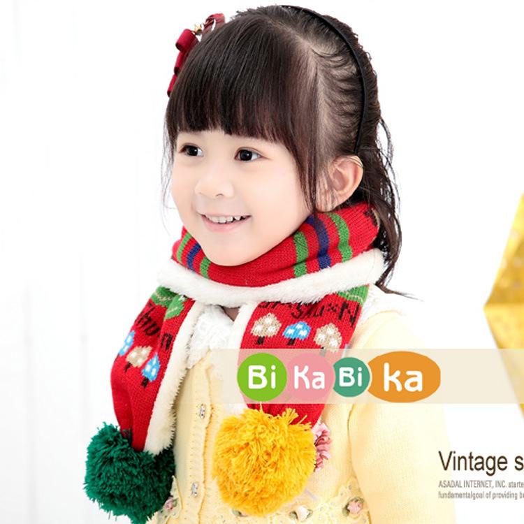 Bikabika children new winter scarves knitted scarf children frog pattern (4-color) _WJ8261(China (Mainland))