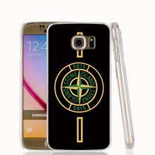 18396 STONE ISLAND black ground cell phone case cover for Samsung Galaxy S7 edge PLUS S6 S5 S4 S3 MINI