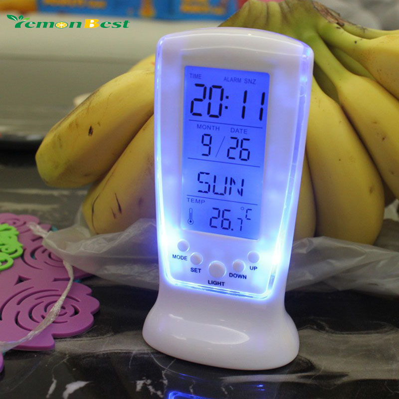Clocks Frozen Led Digital Clock Despertador Desk Clock Bedside Alarm Clock Electronic Watch Square Gift For Kids(China (Mainland))