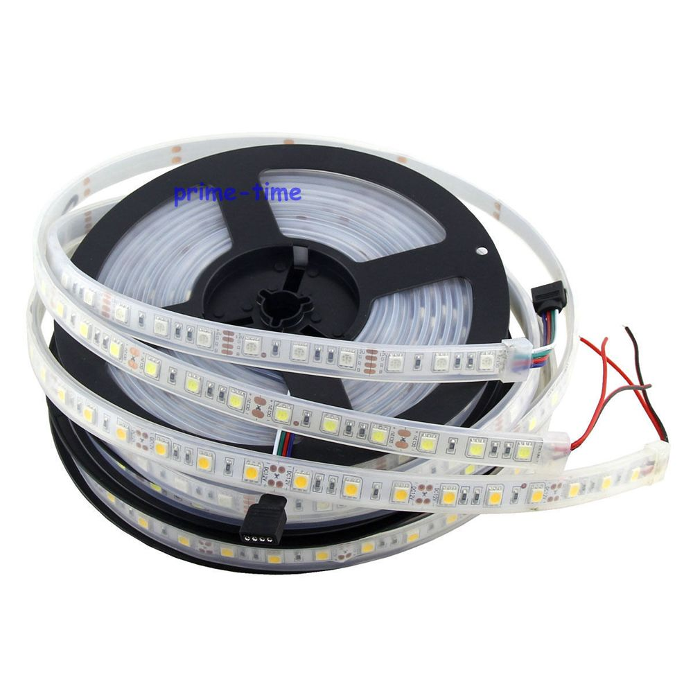 5m 5050 300 leds ip67 waterproof led strip 12v 60led m. Black Bedroom Furniture Sets. Home Design Ideas