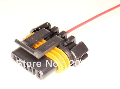 longyue 20pcs Alternator Wiring Harness Connector Pigtail 98-02 LS1 universal Camaro and Trans Am 15cm wire(China (Mainland))