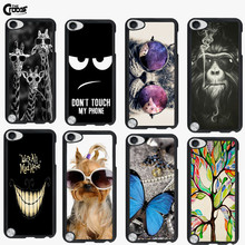 Case For Ipod Touch 5 Colorful Printing Drawing Plastic Hard Brand Phone Cover for Ipod Touch 5 Mobile Phone Cases Accessories