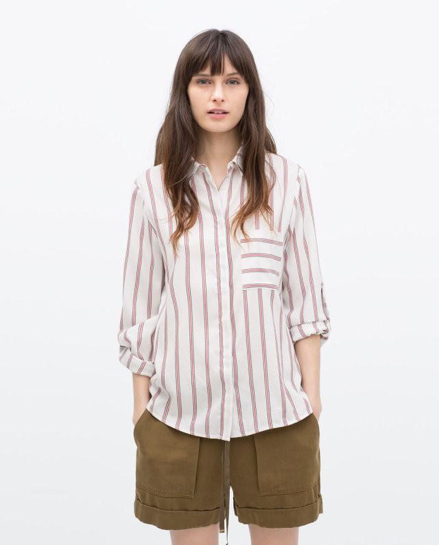 Women'S Clothing Chiffon Pink Blouse 100