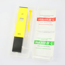 PH 009 Pocket Pen Type PH Meter Digital PH Tester for Aquarium Pool Water Laboratory Test