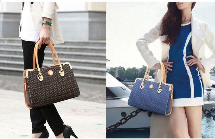 2016 handbag shoulder bag simple fashion pink casual European fashion tide killer hand bag Messenger bag Free Shipping