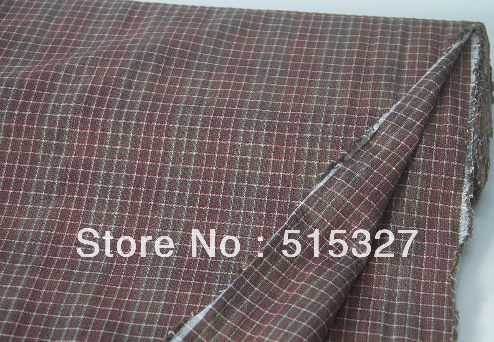 Japanese Import Quilting Patchwork Yarn-dye Cotton Fabrics By 1/2 Yard 30000305(China (Mainland))