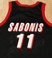 #11 ARVYDAS SABONIS throwback retro BASKETBALL JERSEY black, New Custom ANY SIZE,Cheap Stitched Basketball Mesh Rev30 Jersey(China (Mainland))