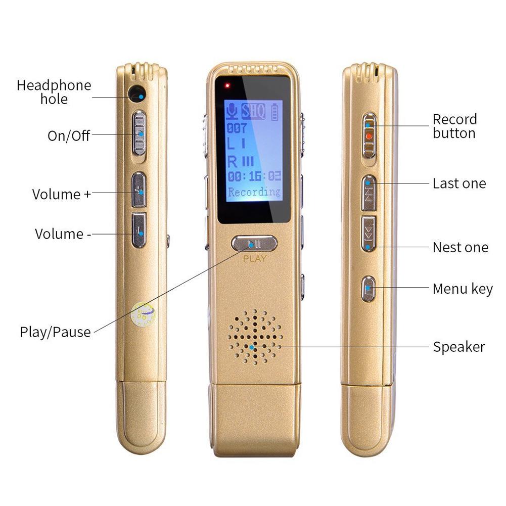 MP3 плеер лекции звук Шум снижение активированный зарядка через usb голос aeProduct.getSubject()