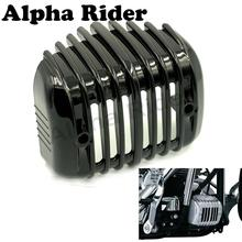 Stock Voltage Regulator Cover Frame Guard Oil Cooler Protector Harley FXSTB Softail Night Train 01-09 08 07 06 05 04 03 02 - Miss Sunshine's Mall store