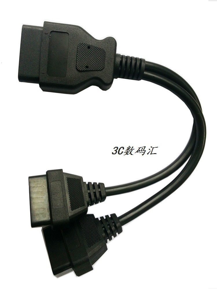 OBD2 ELM327 trip computer car fault diagnosis tester USB interface cable V1.5 OBDII free shipping(China (Mainland))