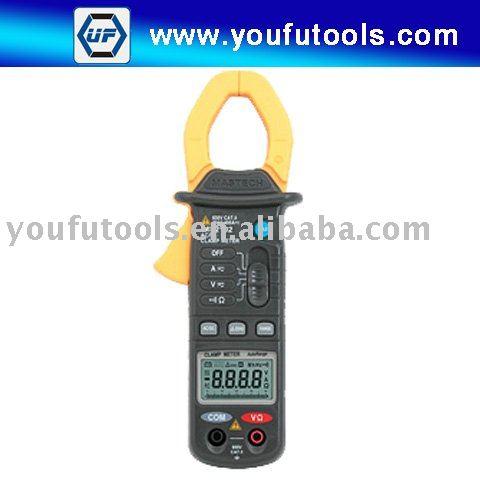 MS2102 3.3/4 min AC/DC Autorange clamp meter<br>