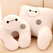 White pillow U-shaped massager neck cushion lumbar pillow office pillow(China (Mainland))