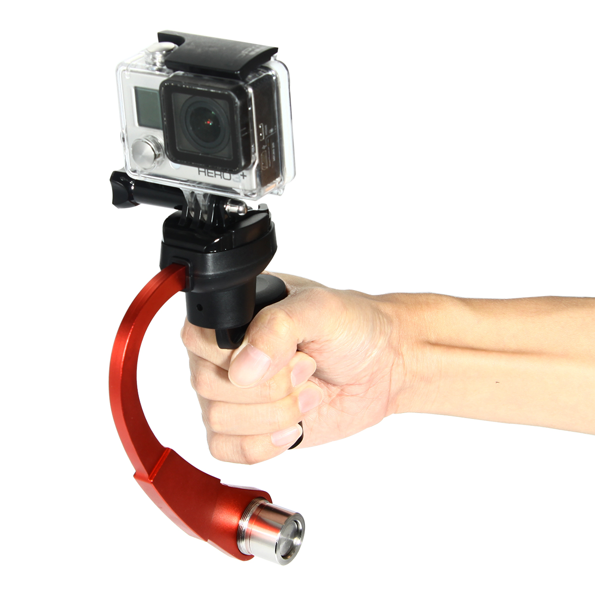 Mini Gimbal Handheld Steadicam Steadycam Curve Video Stabilizer For GoPro HD Hero 4/3+/3 Camera TV057 от Aliexpress INT