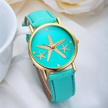 2015 New Arrival personality Star Geneva Fashion Casual Watch Elegant Dress Wristwatch Colorful Quartz Women Watch