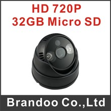 720P IR Night Use USB Dome Camera CCTV Motion Detection Home Video Security DVR Loop Recording & TF SD Card Slot from Brandoo(China (Mainland))