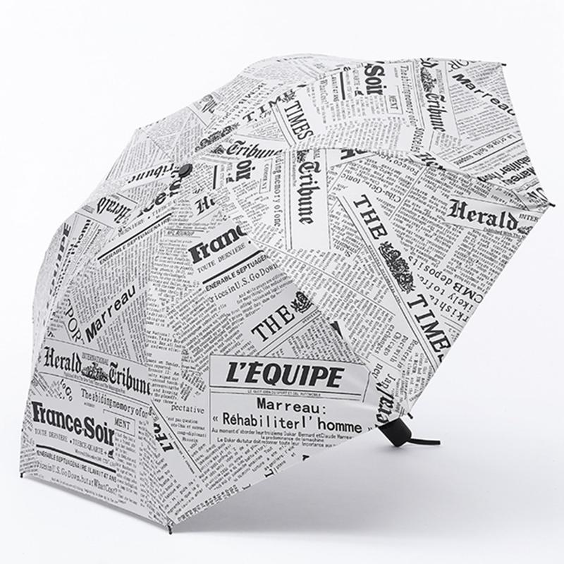 Новый творческий уф зонтик дождь 3 складной металлический parapluie женщины мужчины рыбалка зонтик леди неавтоматическое зонтики оптовая
