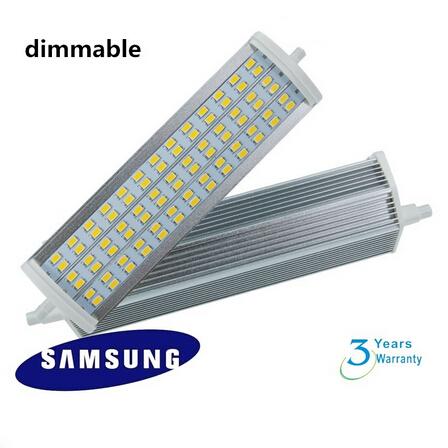 Free shipping 22w led 189mm dimmable R7S light high power led flood light J189 led R7S lamp AC85-265V(China (Mainland))