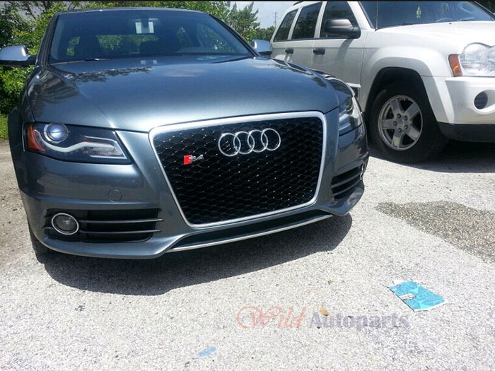 audi s4 grill. grille strip overlay kit for b8 5 audi s4 s line 2013